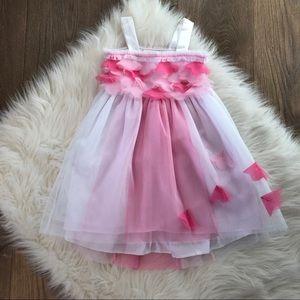 Pink & White Tutu Dress Size 2T